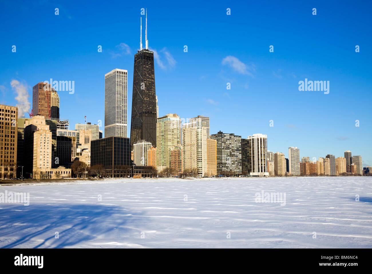 L'heure d'hiver de la Côte d'or Photo Stock