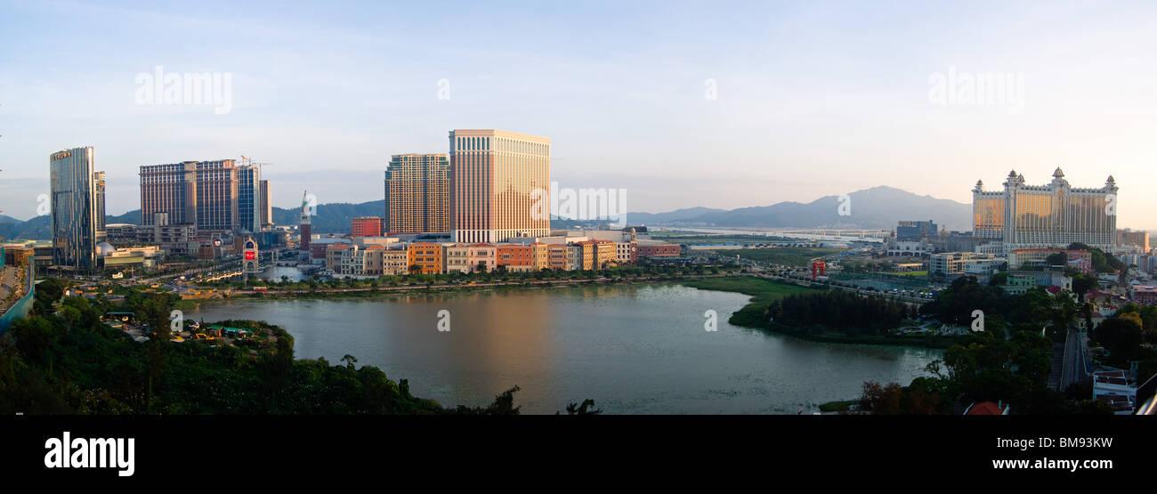 Les Casinos de Macau Photo Stock