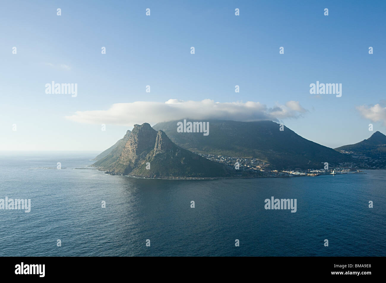 Côte de Cape town Photo Stock