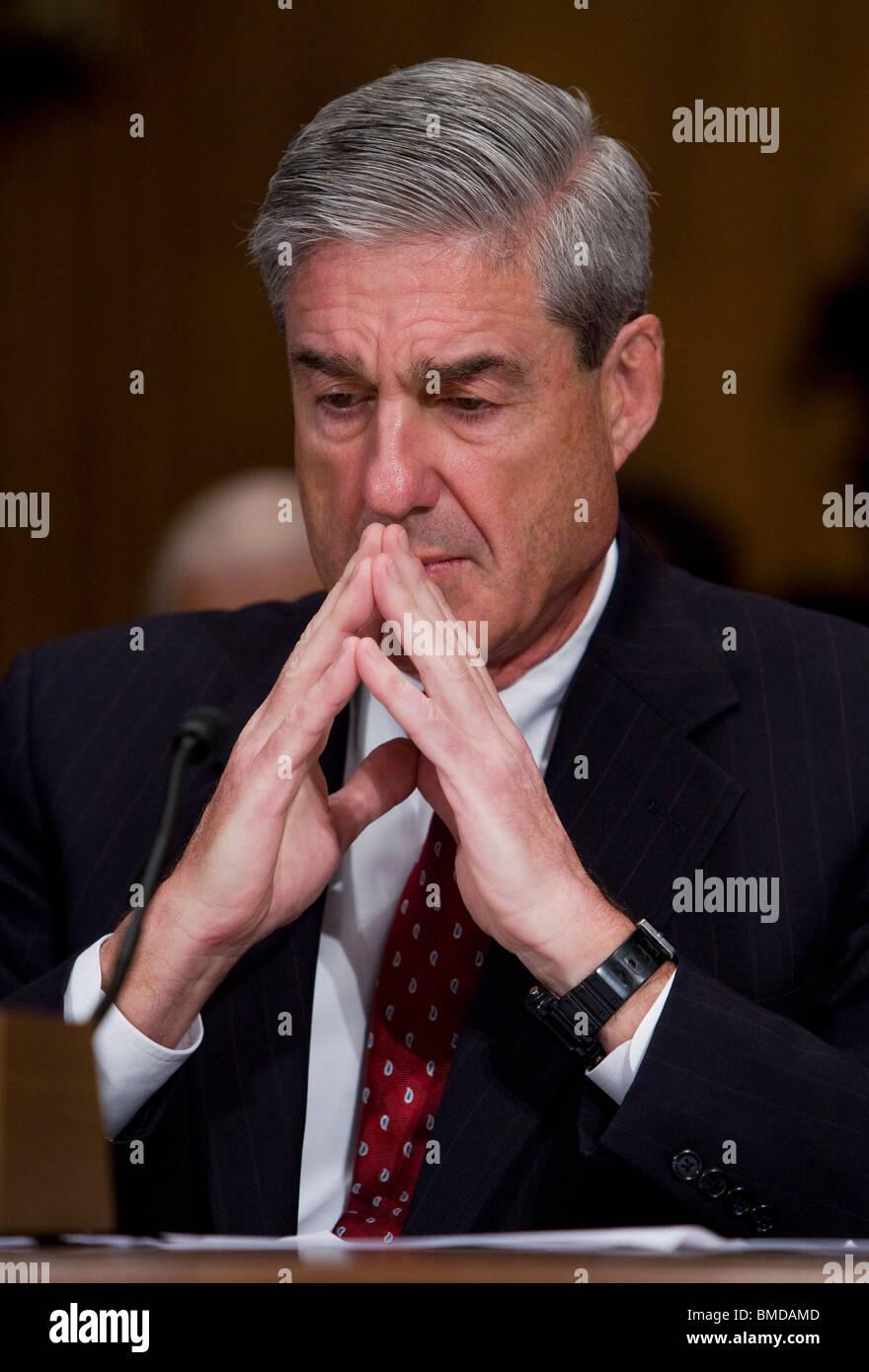 Le chef du FBI Robert Mueller. Photo Stock