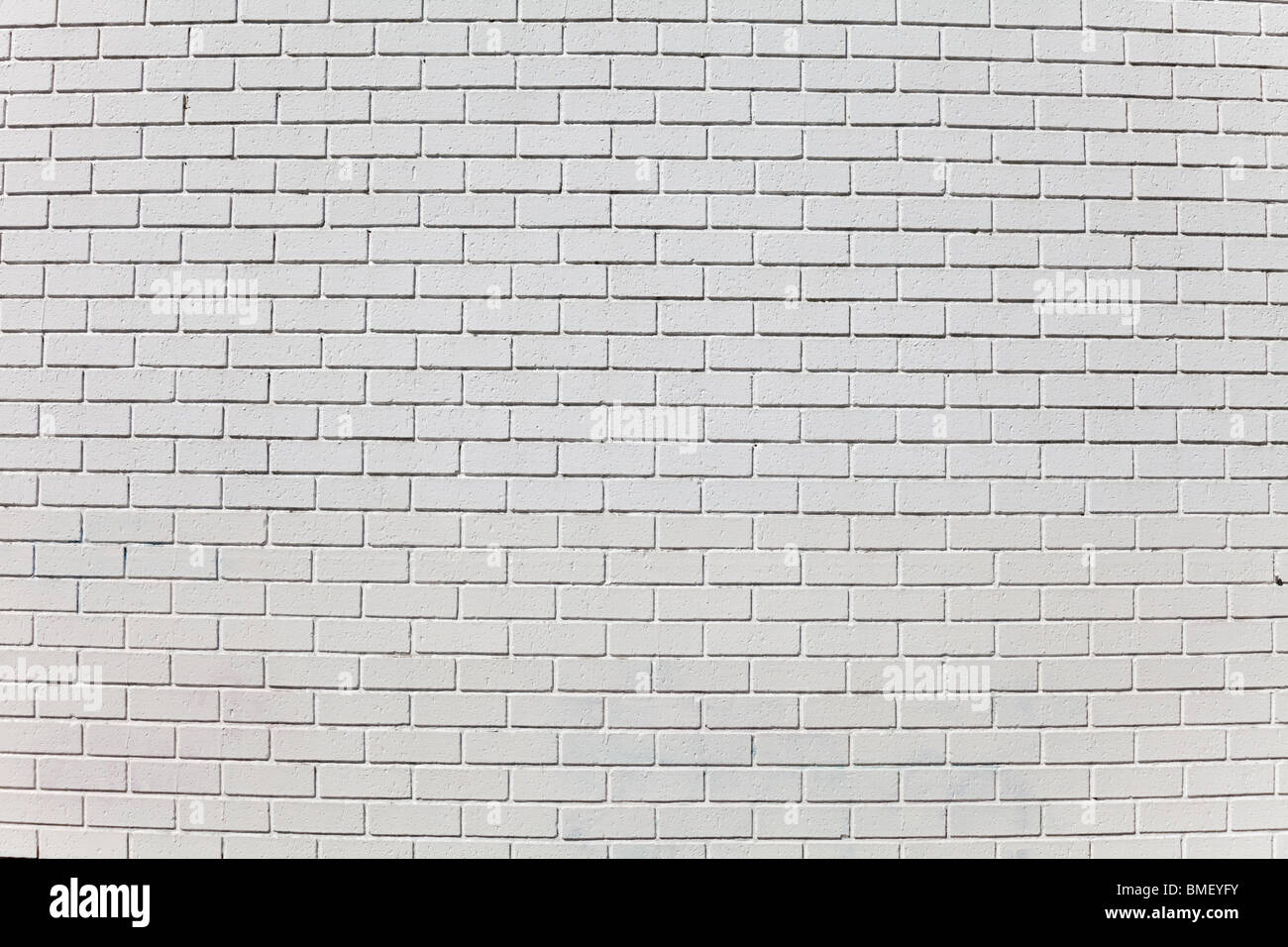 Mur de brique pour le fond blanc Photo Stock