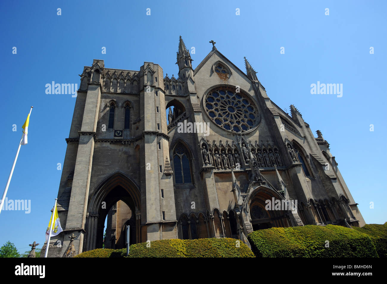 L'avant d'Arundel Cathedral Photo Stock