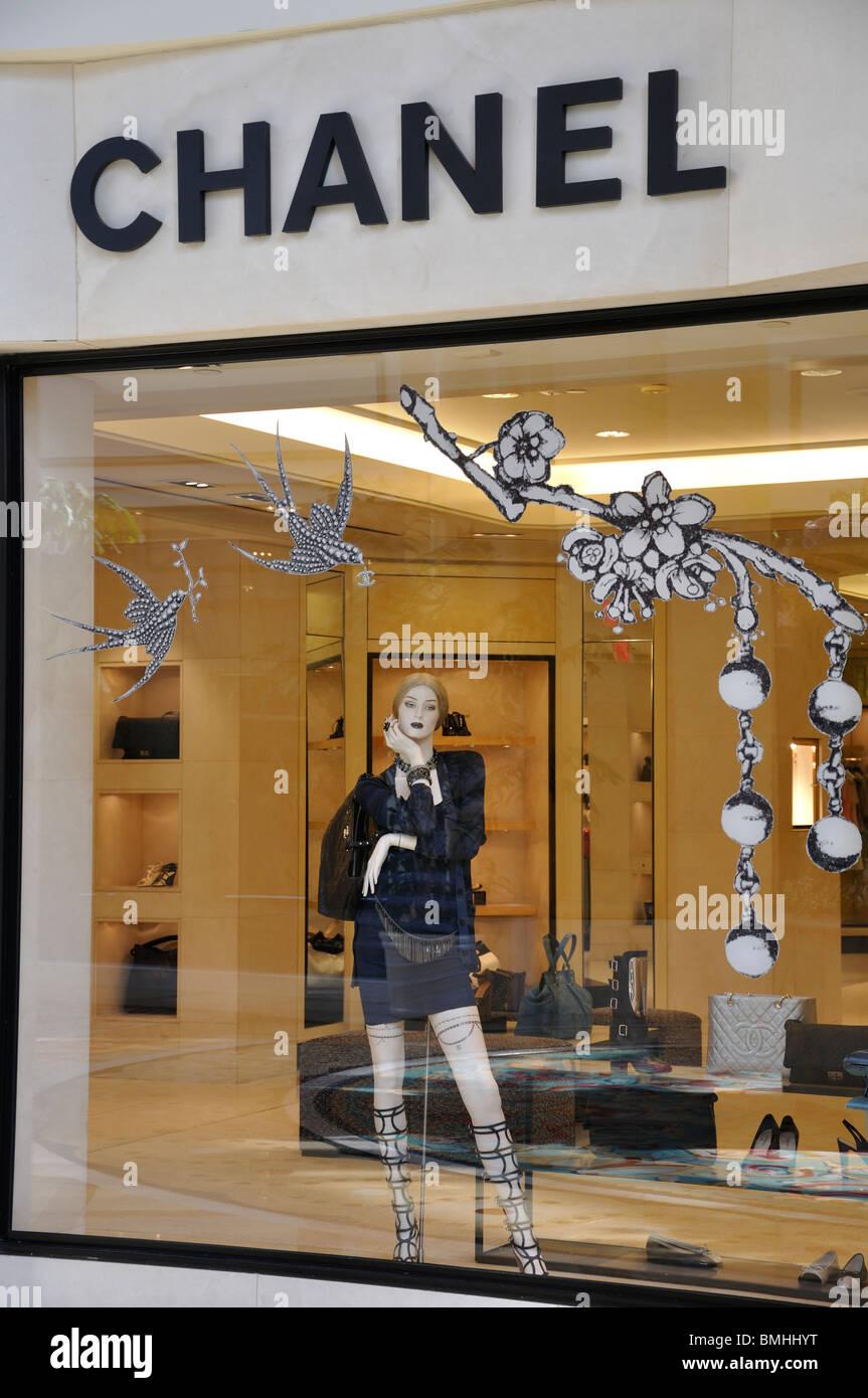 Boutique Chanel au Bellagio Hotel, Las Vegas, Nevada, USA Photo Stock 9e62846f1e57