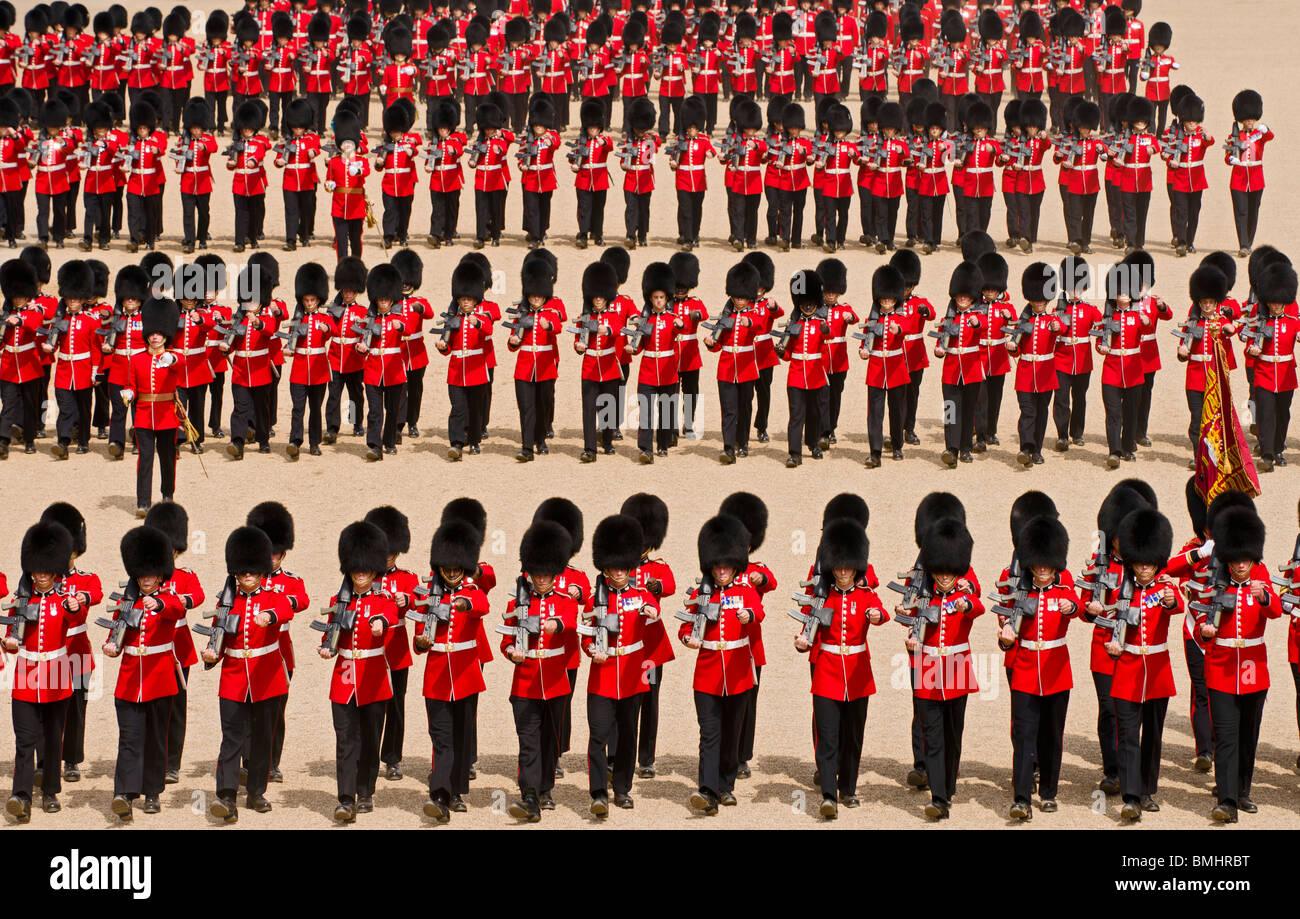 Défilé de l'anniversaire de la Reine, aussi connu comme la parade de la couleur, qui a lieu chaque Photo Stock