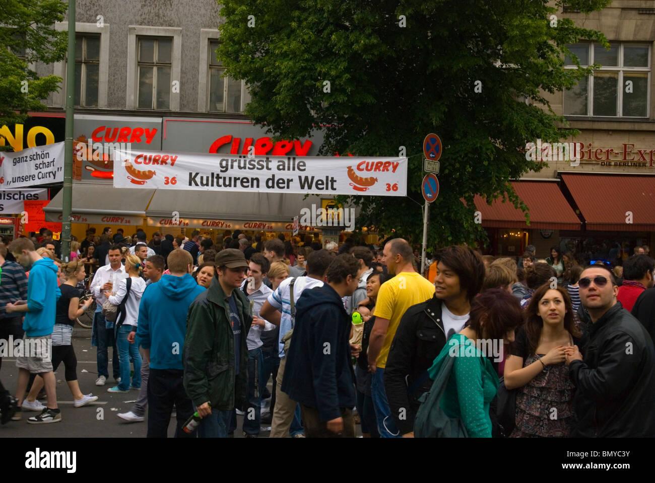 Karneval der Kulturen (Carnaval des Cultures) street festival kreuzberg Berlin Allemagne Eurore Photo Stock