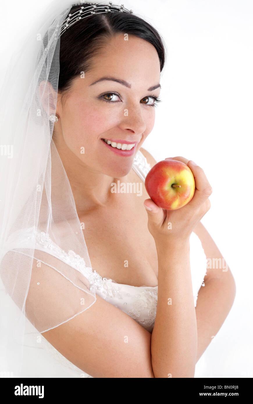 Régime alimentaire sain pour le grand jour Photo Stock