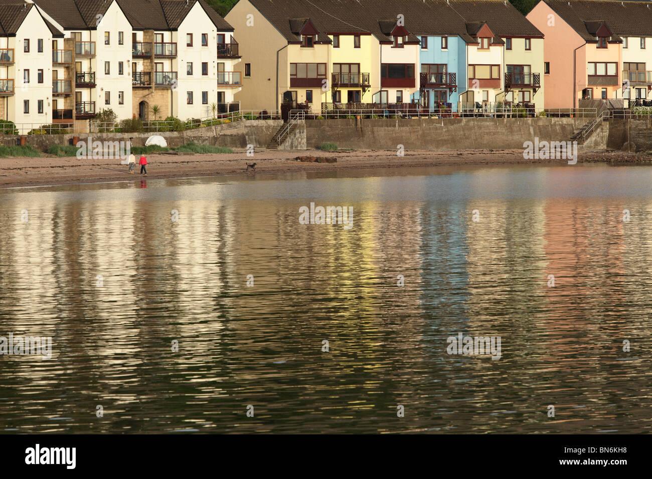 Fairlie, village sur le sentier côtier d'Ayrshire à côté du Firth of Clyde, North Ayrshire, Écosse, Royaume-Uni Banque D'Images