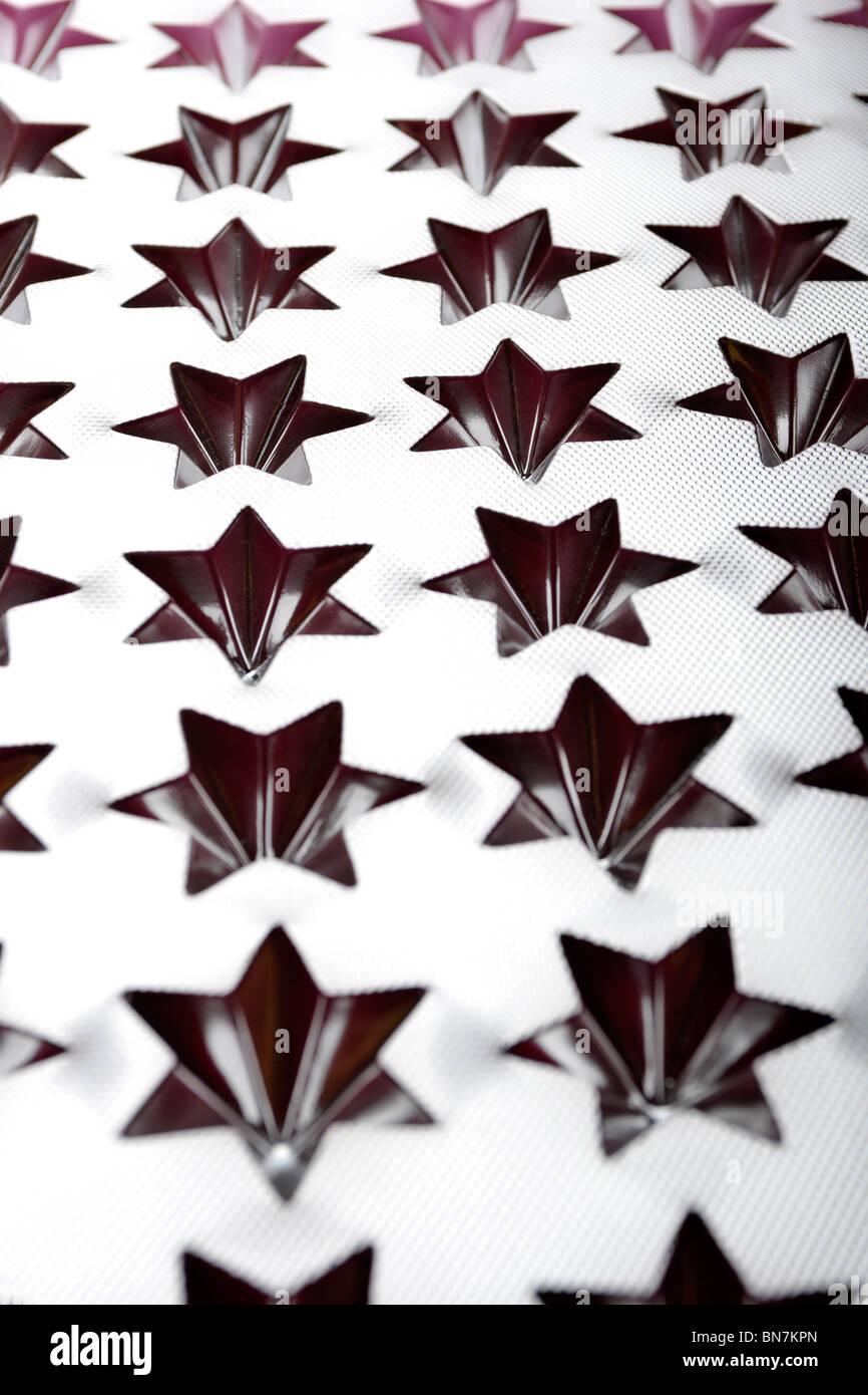 fiches de Stars Photo Stock