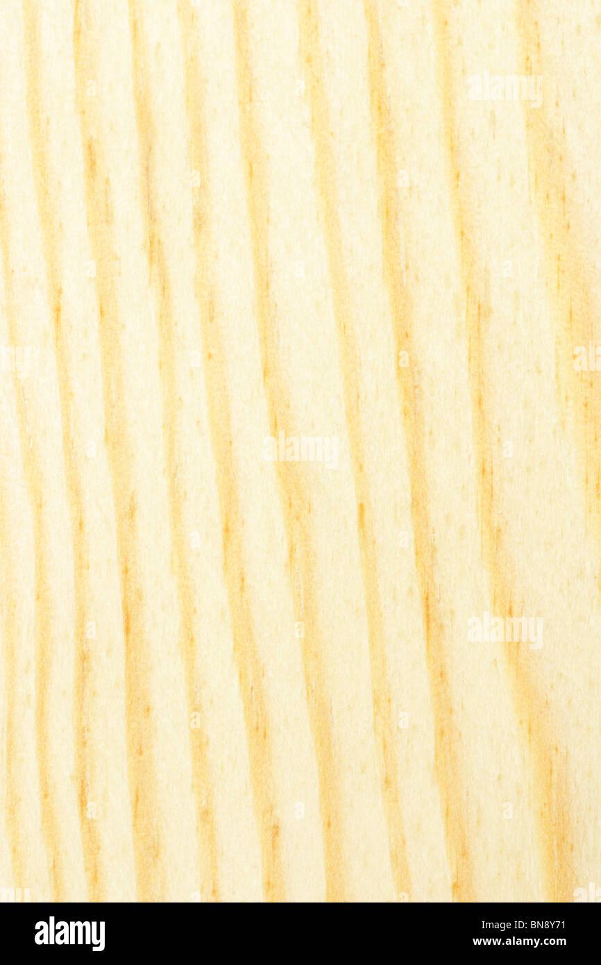 Surface en bois jaune clair texture background Photo Stock