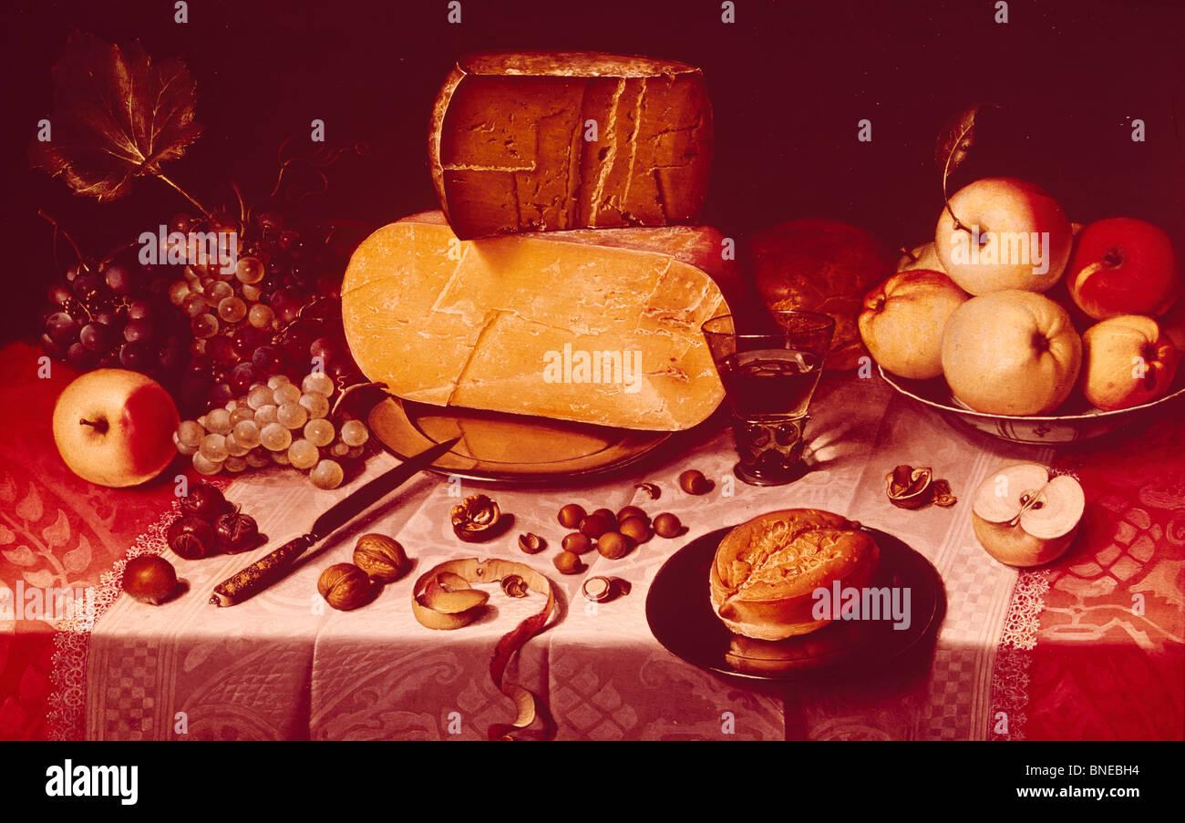 Still Life, de Pieter Claesz, 1597-1661 Photo Stock