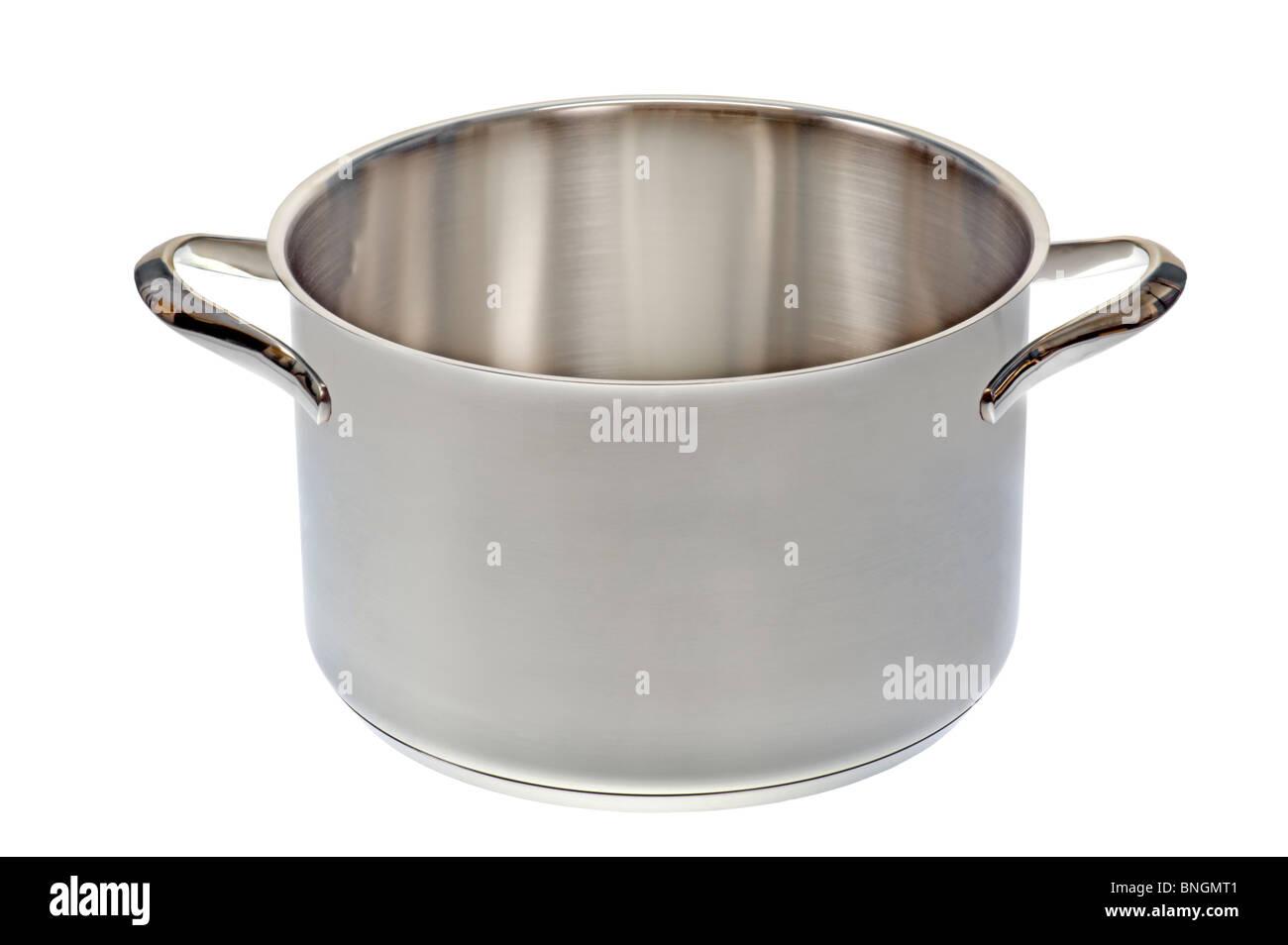 Marmite casserole cuisine ouverte cuire ware cromargan acier inoxydable en acier spécial résistant à Photo Stock