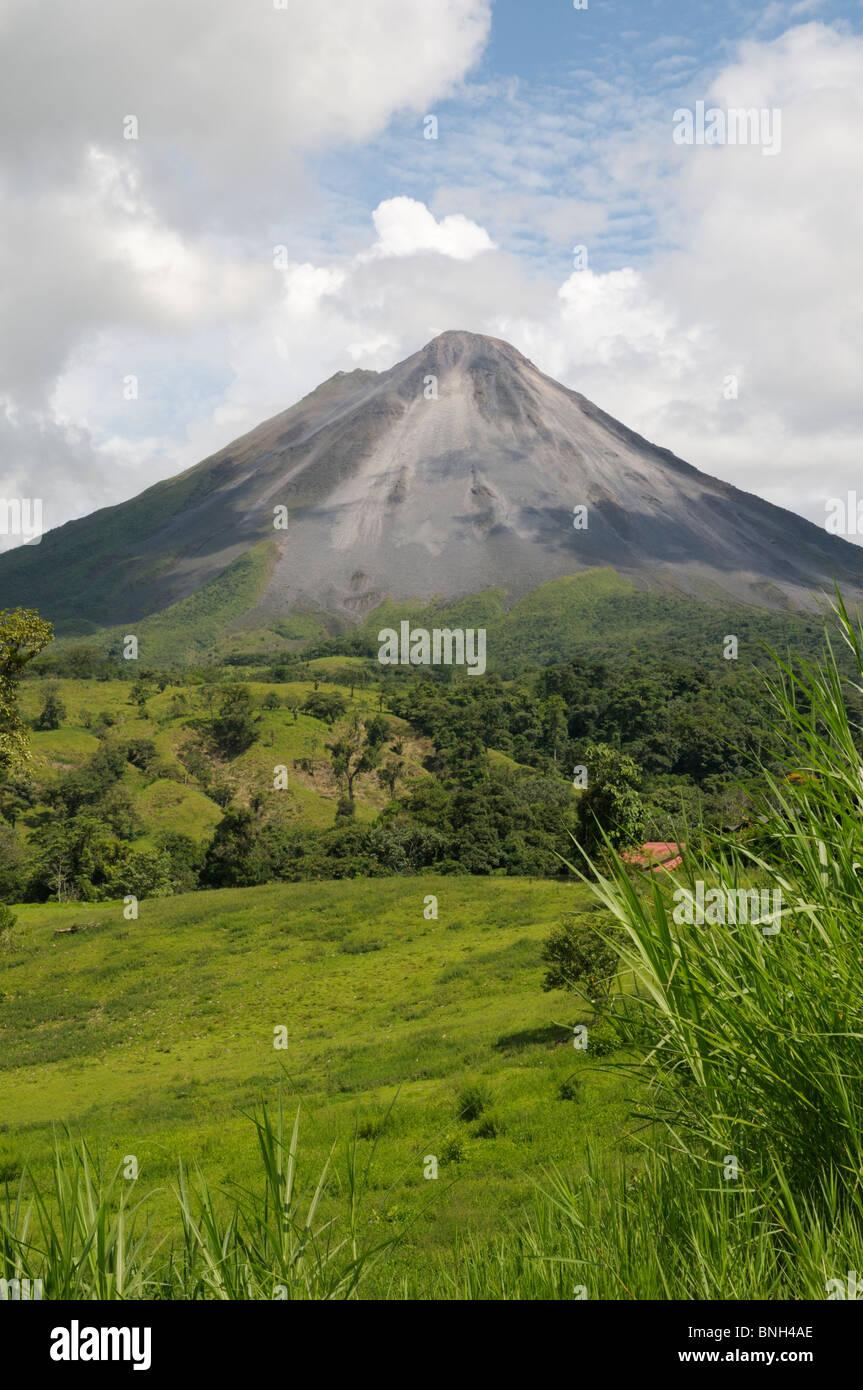 Le Volcan Arenal, la Fortuna, Costa Rica Photo Stock