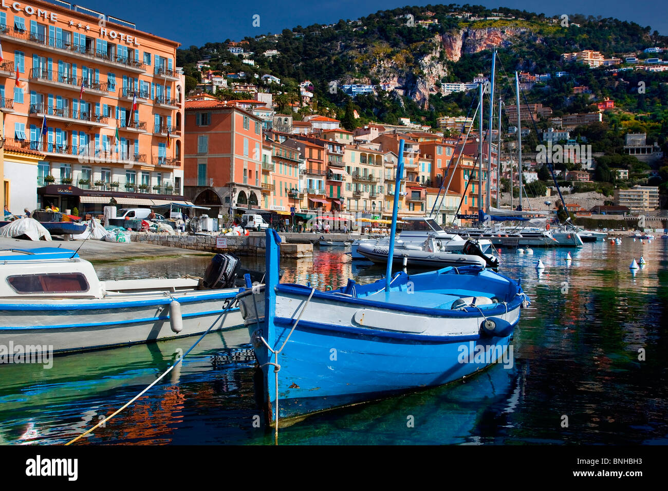 Europe, France, Alpes-Maritimes (06), Villefranche-sur-Mer Photo Stock