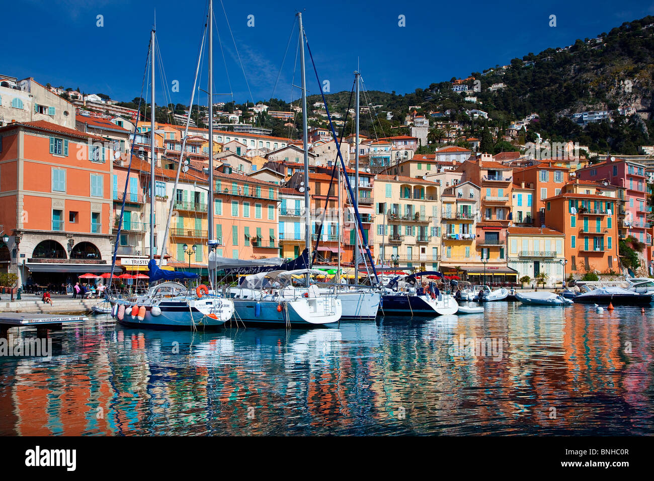 Europe, France, Alpes-Maritimes, Villefranche-sur-Mer Photo Stock