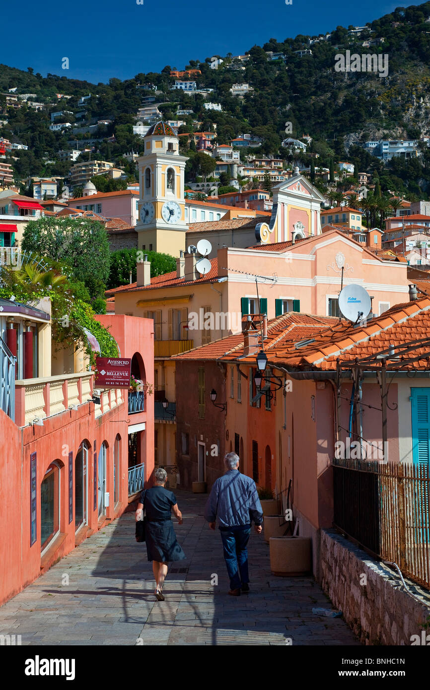 Europe, France, Alpes-Maritimes Villefranche-sur-Mer Photo Stock