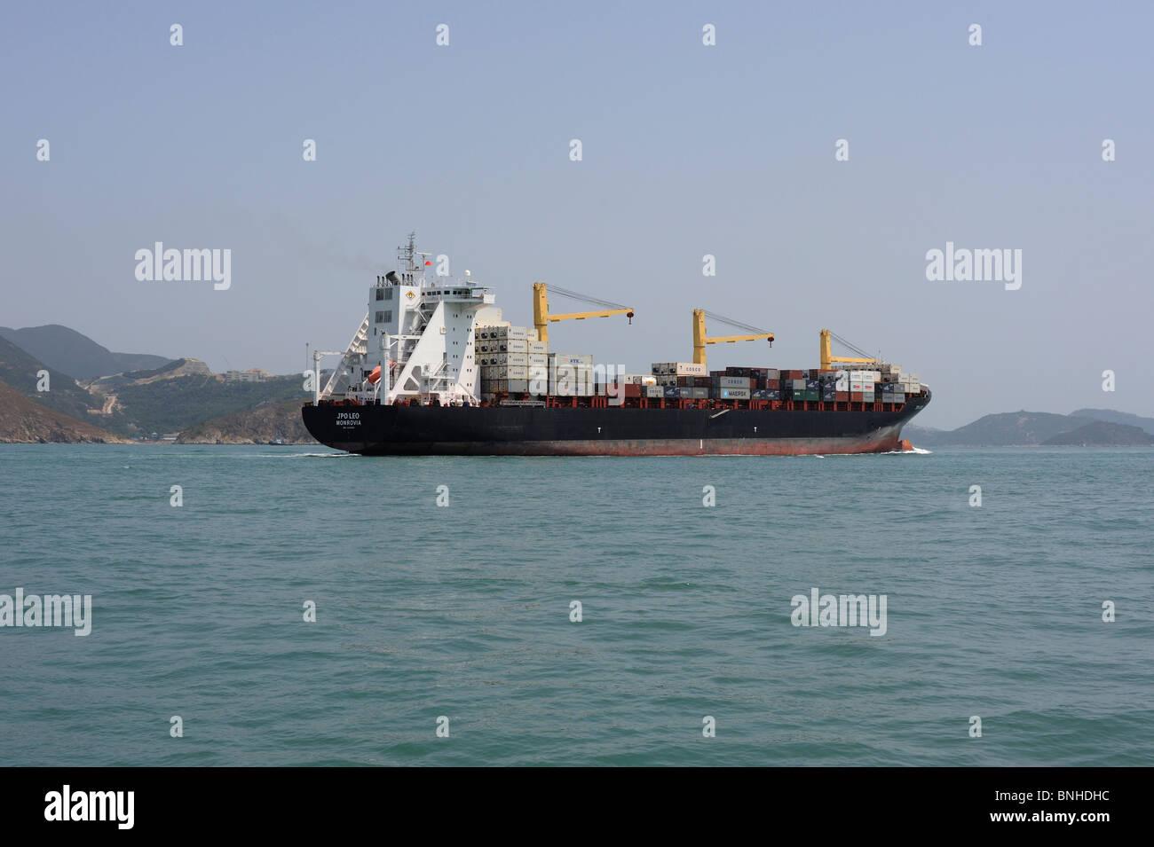 70ec81f474b492 Hong Kong, Monrovia des JPO LEO passant par le canal de Lamma sur le chemin