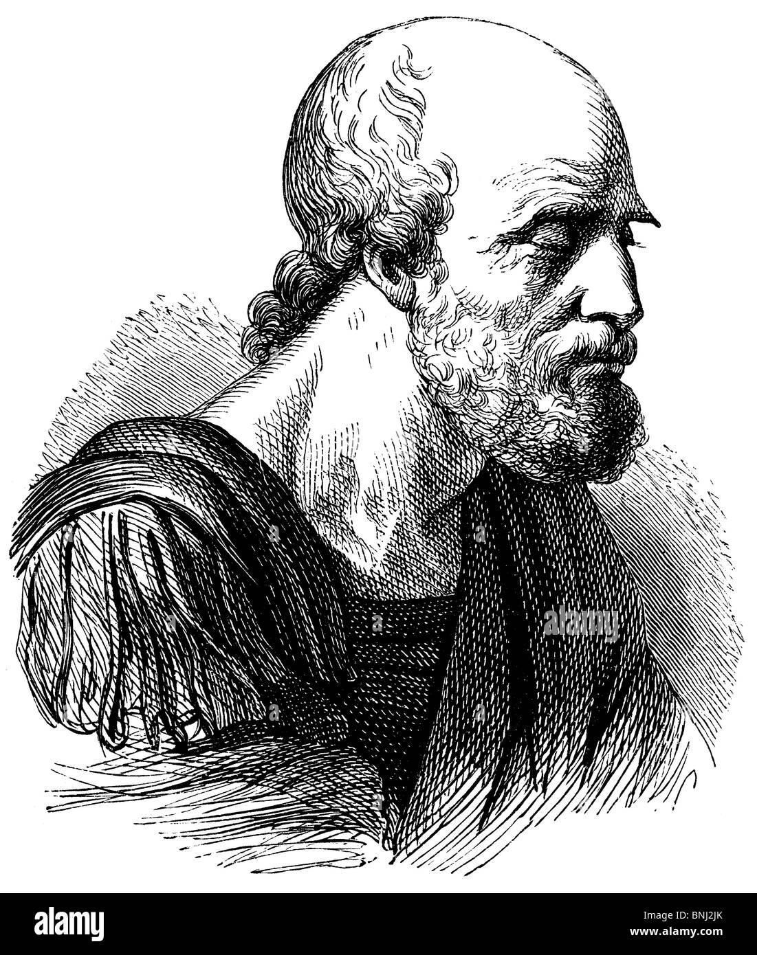 Belisar, Flavius Belisarius (ch. AD 500 - AD 565), général de l'Empire byzantin ou Photo Stock