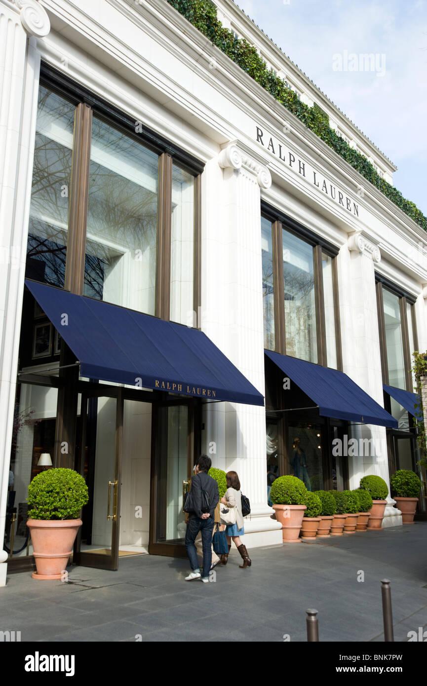 Ralph Lauren store, Tokyo, Japon Banque D Images, Photo Stock ... 5d9e4a5a054