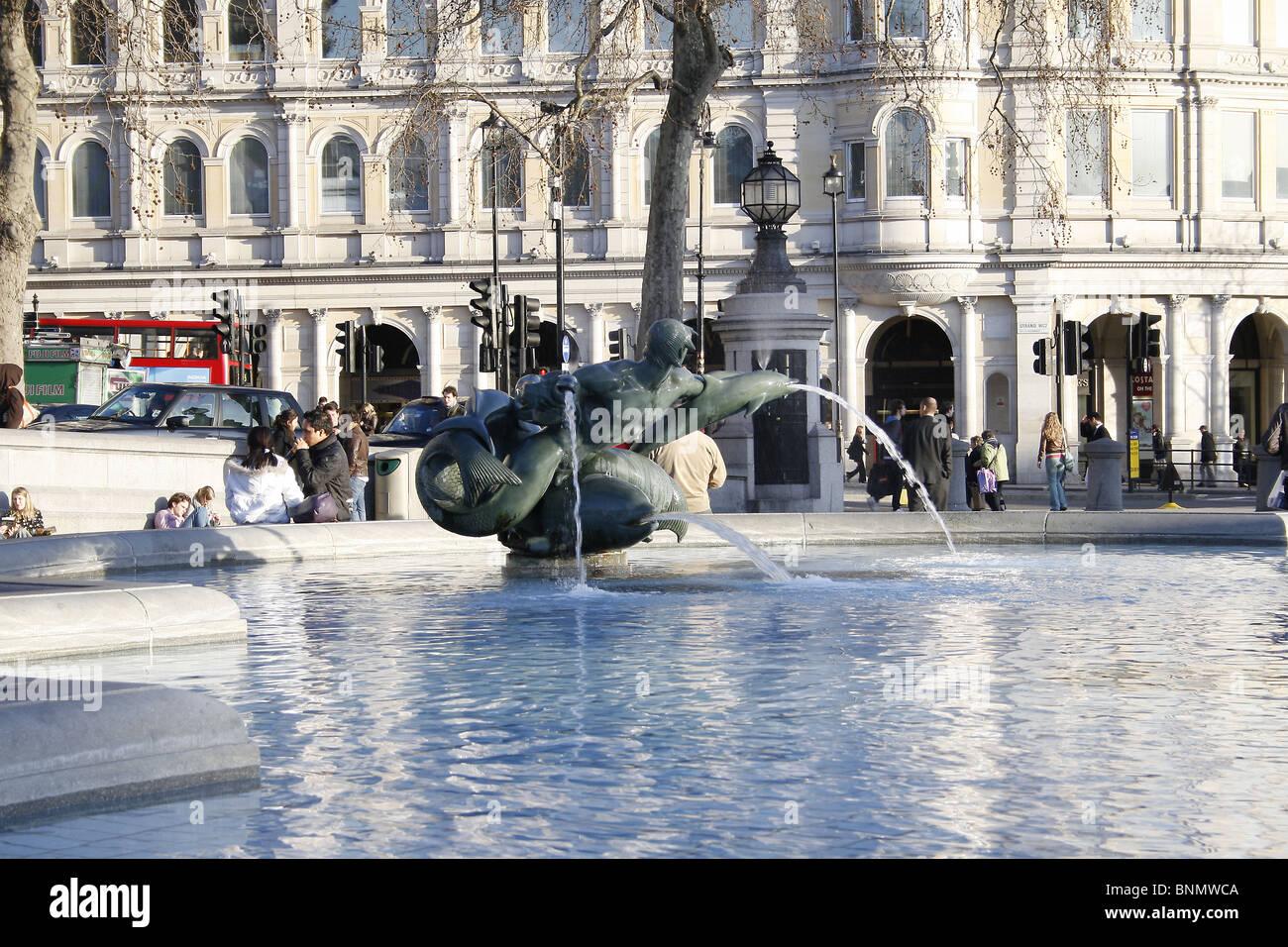 Fontaine à eau à Londres en Angleterre Photo Stock