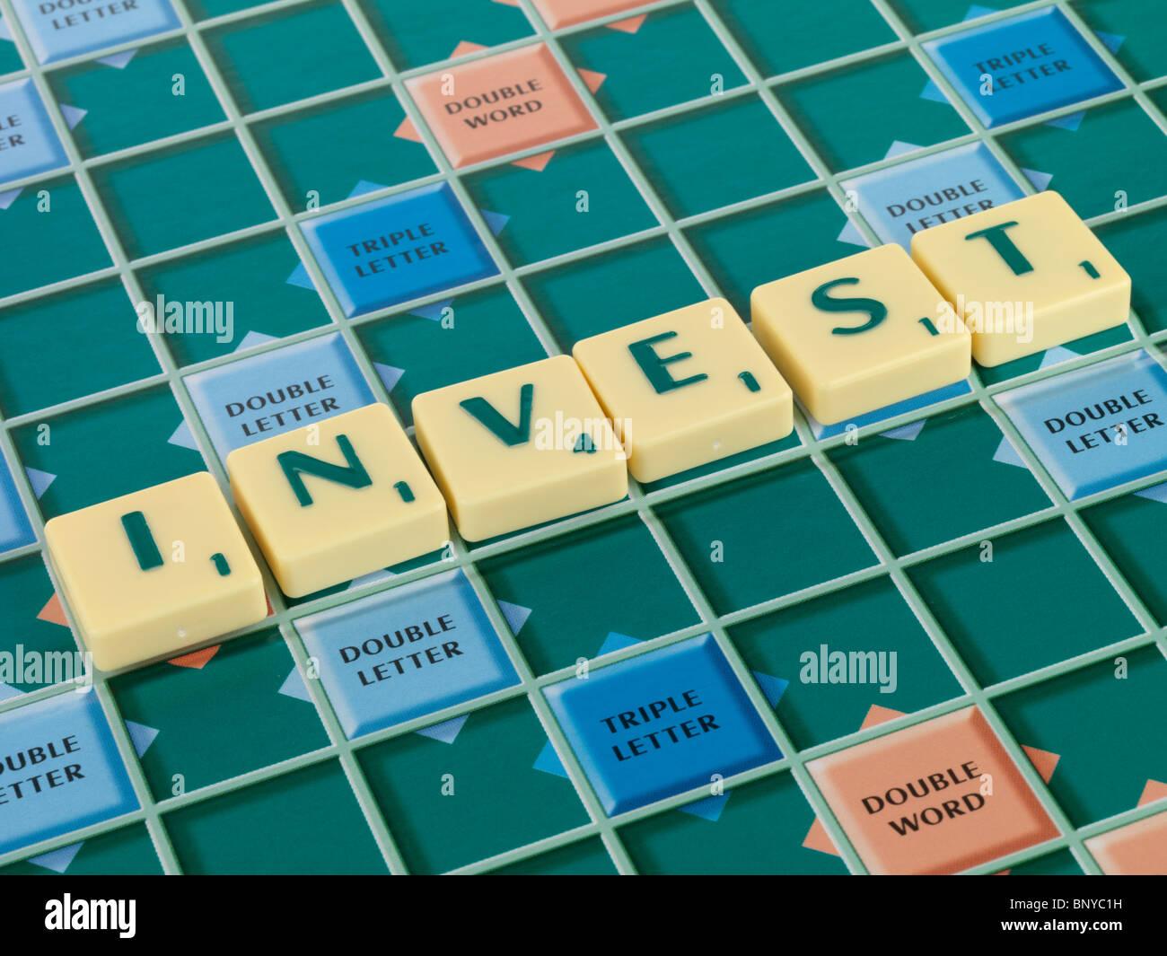Investir Photo Stock
