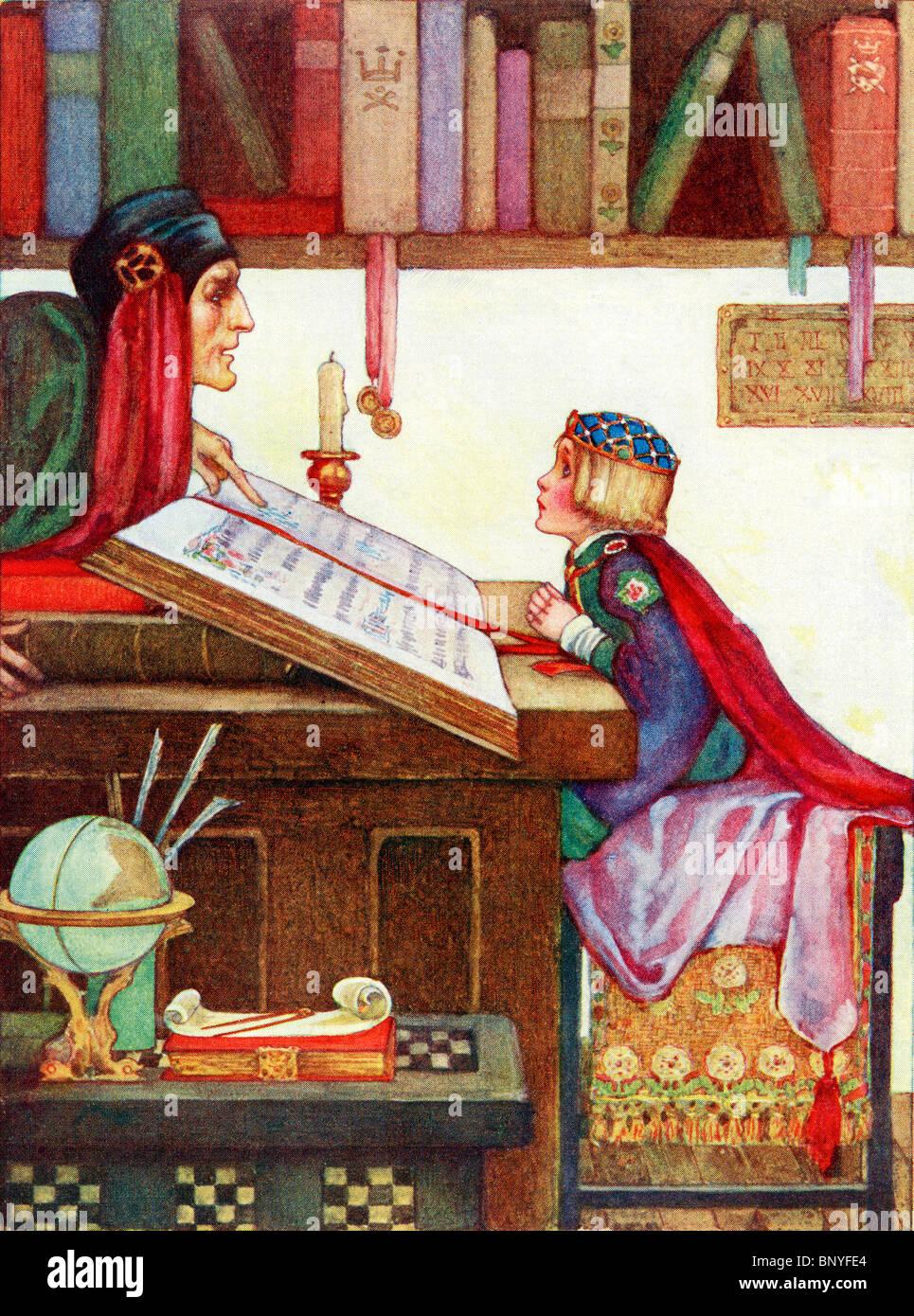 Illustration Pour Le Poeme Le Petit Roi De La Petite Enfance