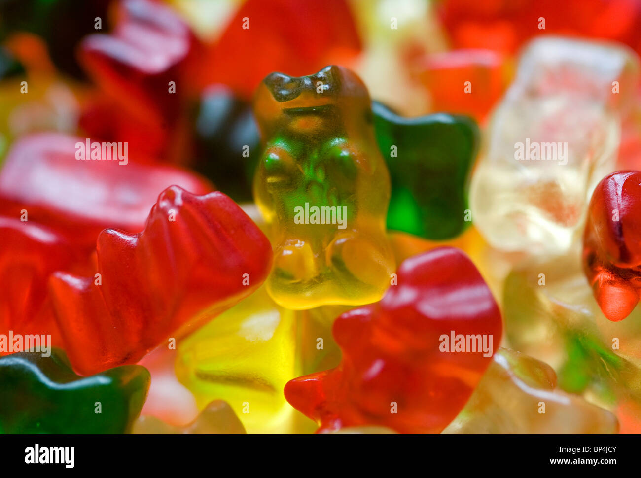 Gummy Bears. Banque D'Images