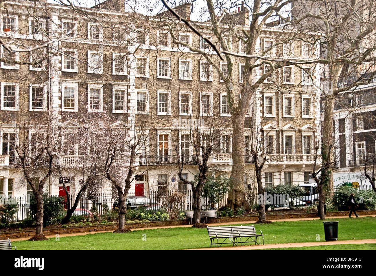 Gordon Square à Londres - le coeur de Bloomsbury; Wohnort der Gruppe bloomsbury Banque D'Images