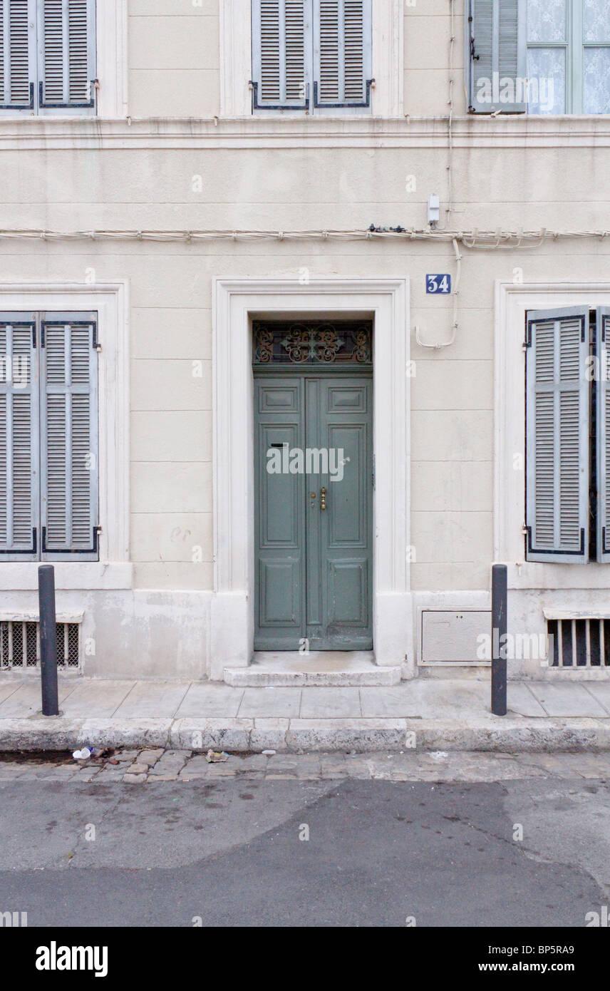 Facade Maison Fenetre Grise