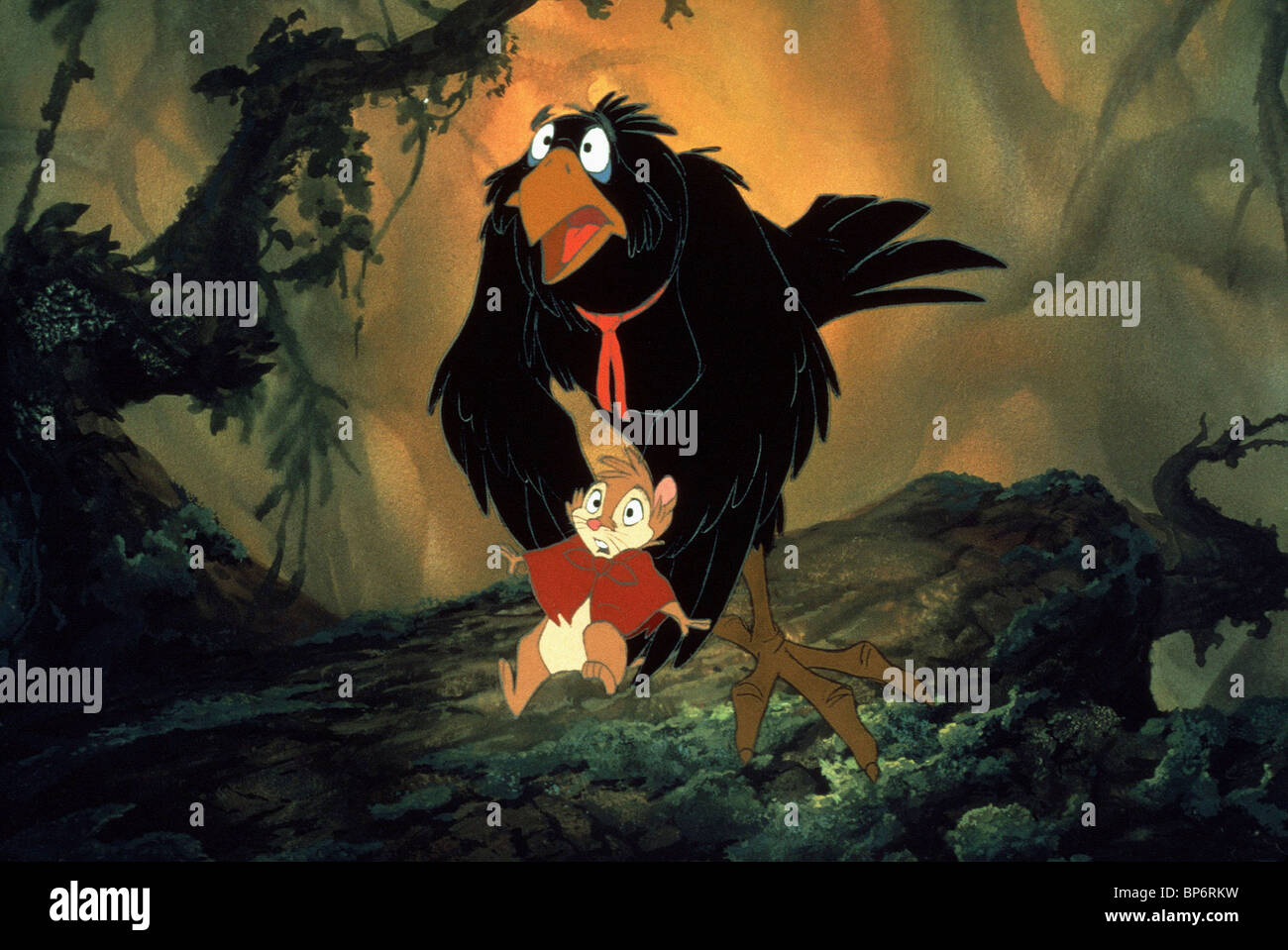 Scène de DESSIN ANIMÉ LE SECRET DE NIMH (1982) Photo Stock