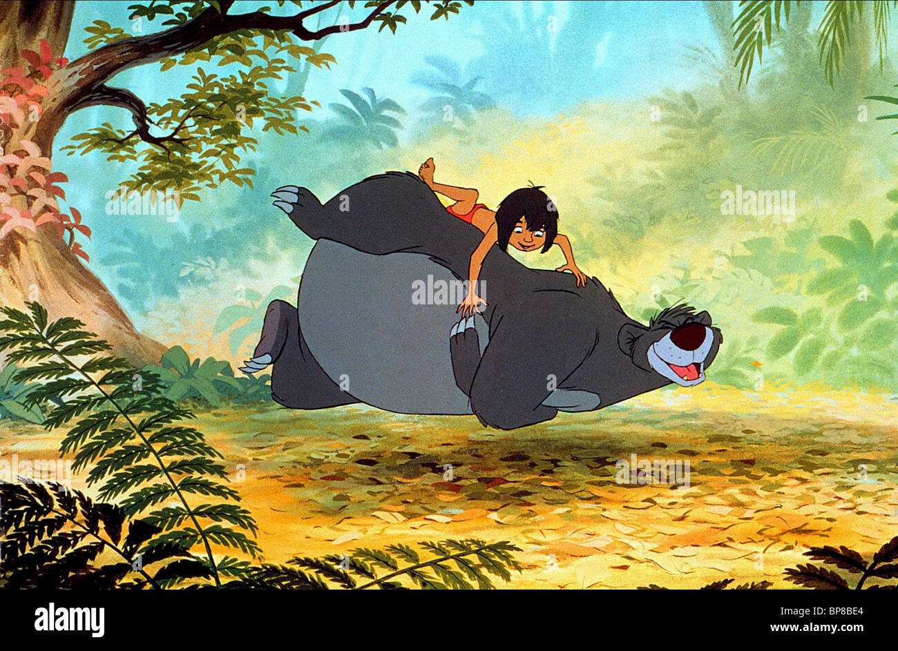 l 39 ours baloo mowgli le livre de la jungle 1967 banque d 39 images photo stock 30917436 alamy. Black Bedroom Furniture Sets. Home Design Ideas