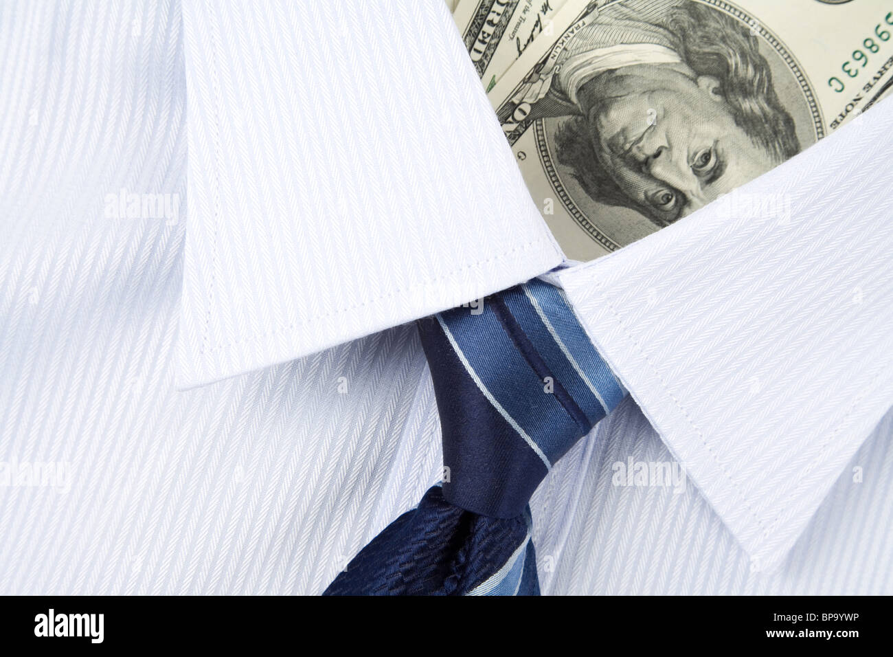 Chemise et du dollar, les Concept Banque D'Images