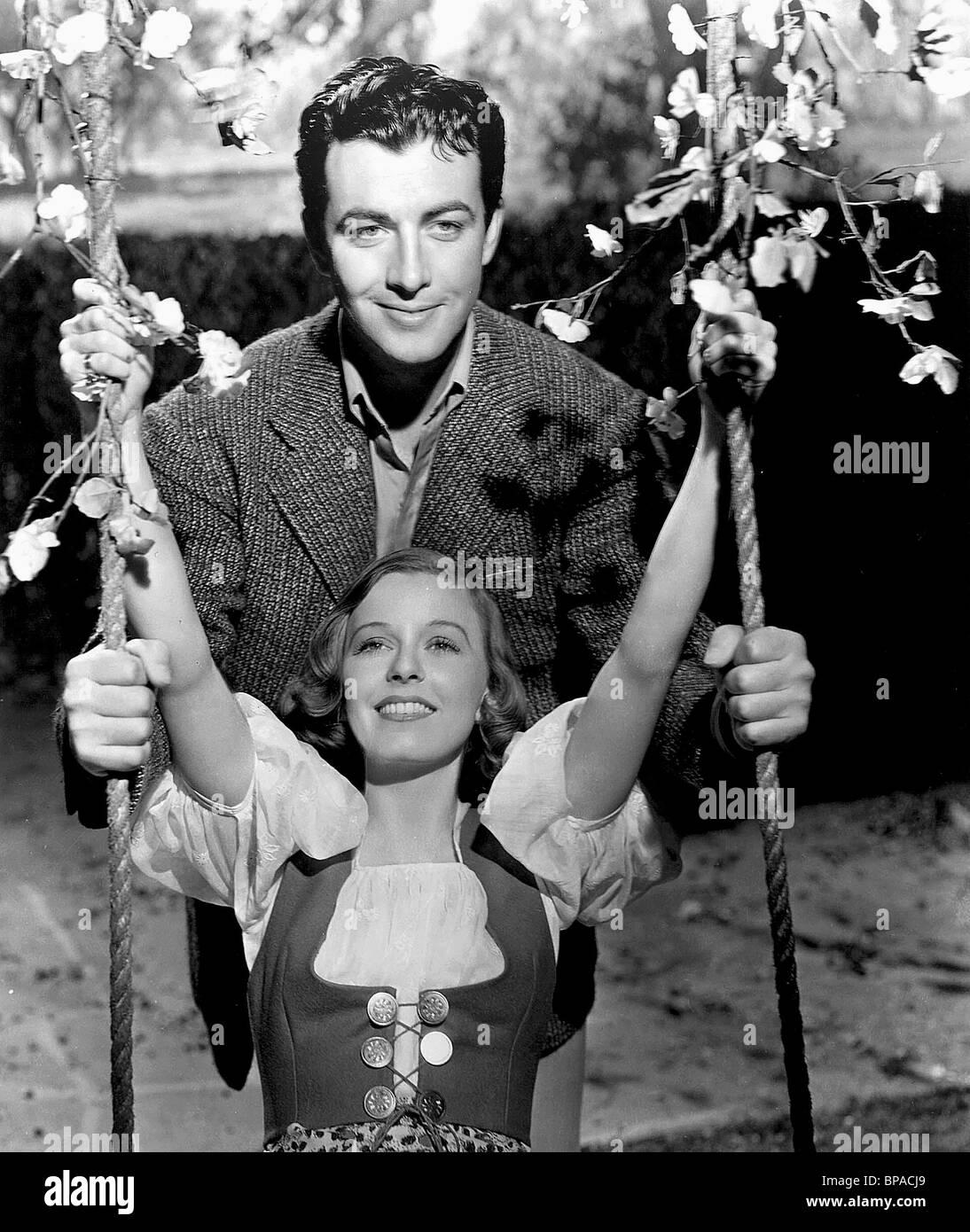 ROBERT TAYLOR & MARGARET SULLAVAN trois camarades (1938) Photo Stock