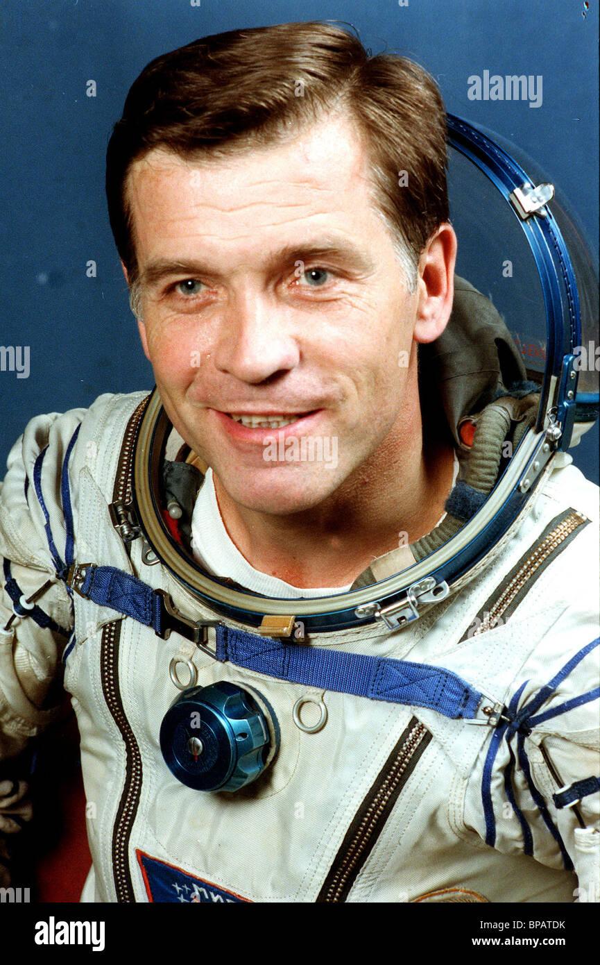 Anatoly Serebrov Photo Stock