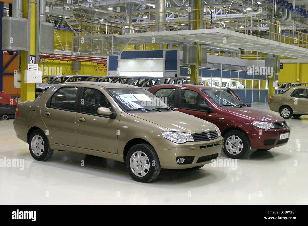 Usine de ZMA commence à assembler Fiat Albea Photo Stock