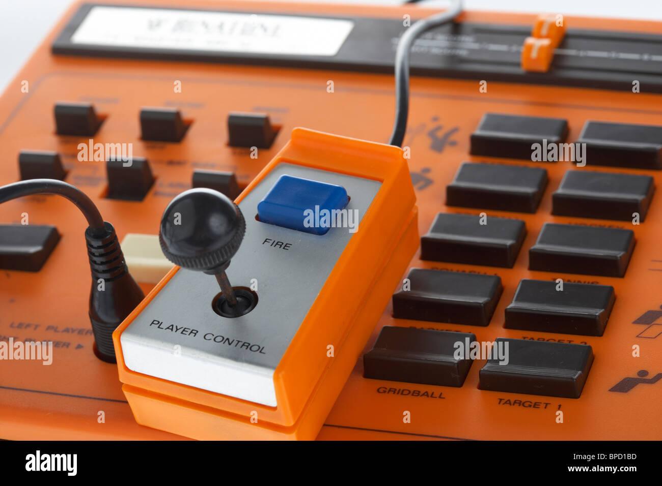 Électronique rétro jeu vidéo binatone plat master mk 10 variante clone pong Photo Stock