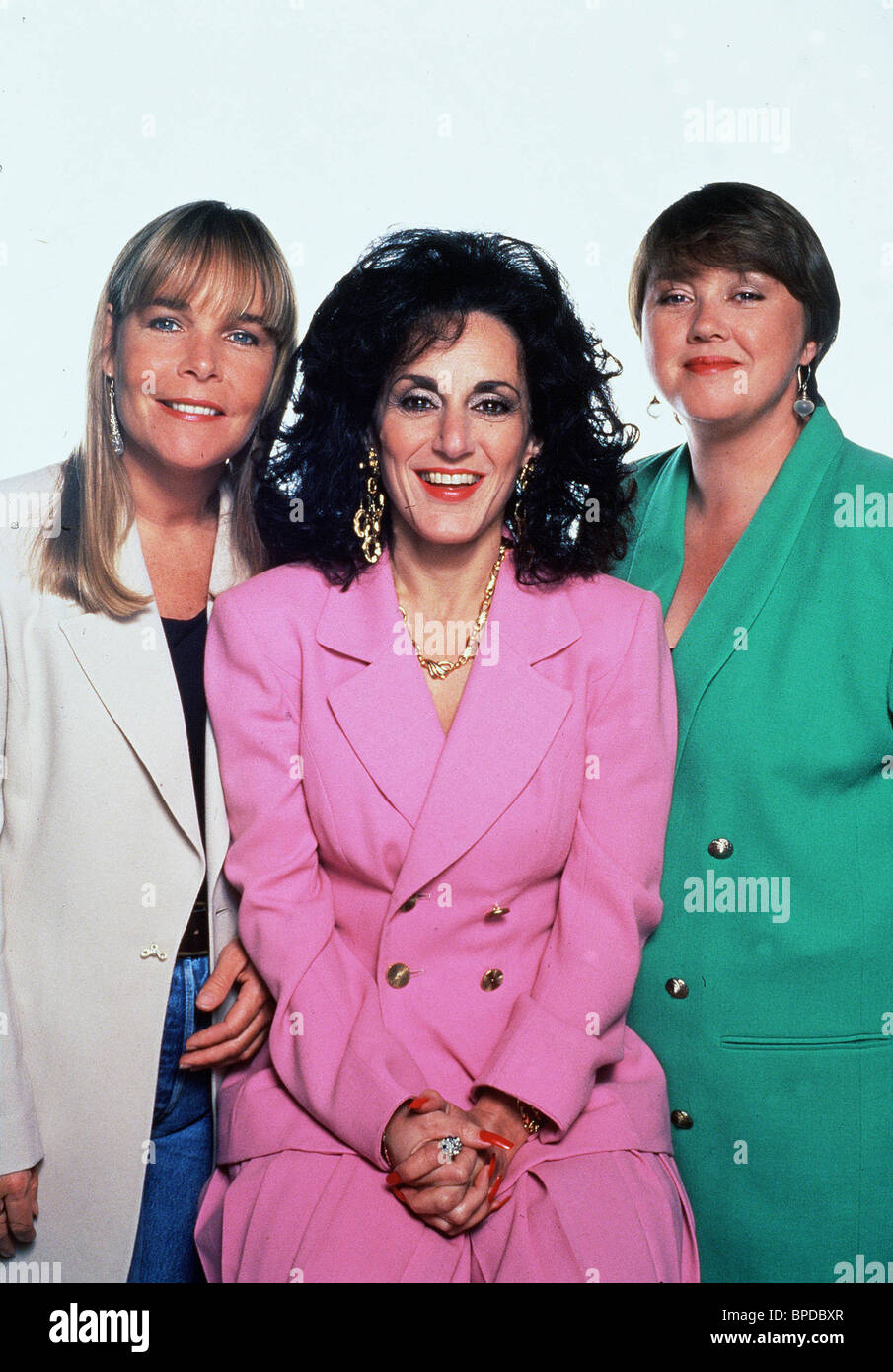LINDA ROBSON, LESLIE JOSEPH, PAULINE QUIRKE, Birds Of A Feather, 1989 Photo Stock