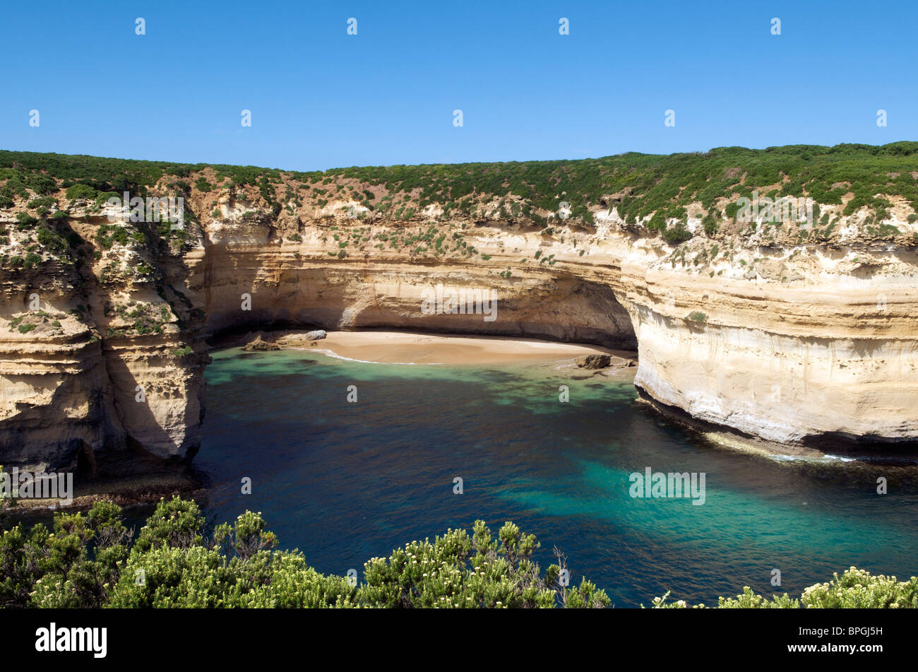 Loch Ard Gorge Port Campbell National Park Great Ocean Road Victoria Australie Photo Stock