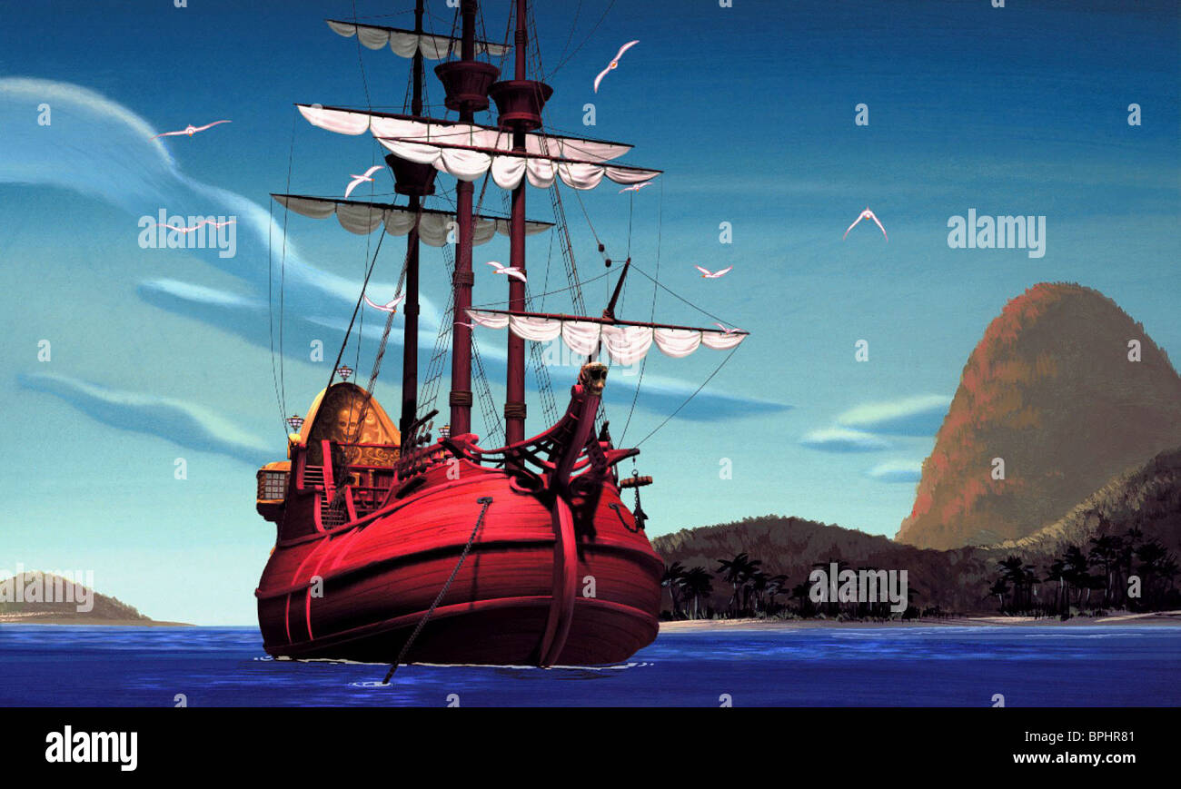 Peter pan return never land photos peter pan return - Bateau pirate peter pan ...