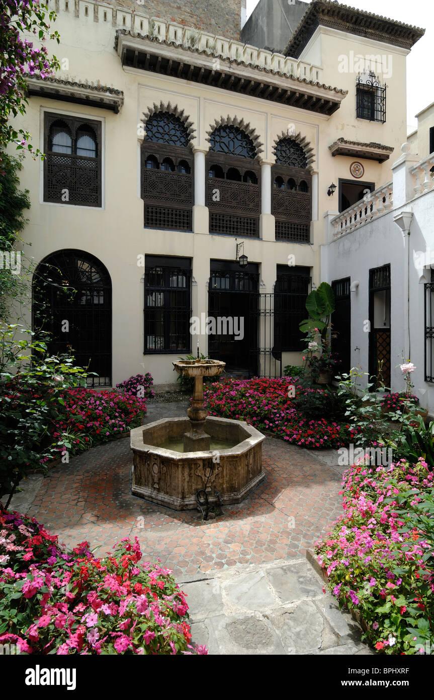 Jardin À L Américaine tanger légation américaine museum et jardin de la cour, dans