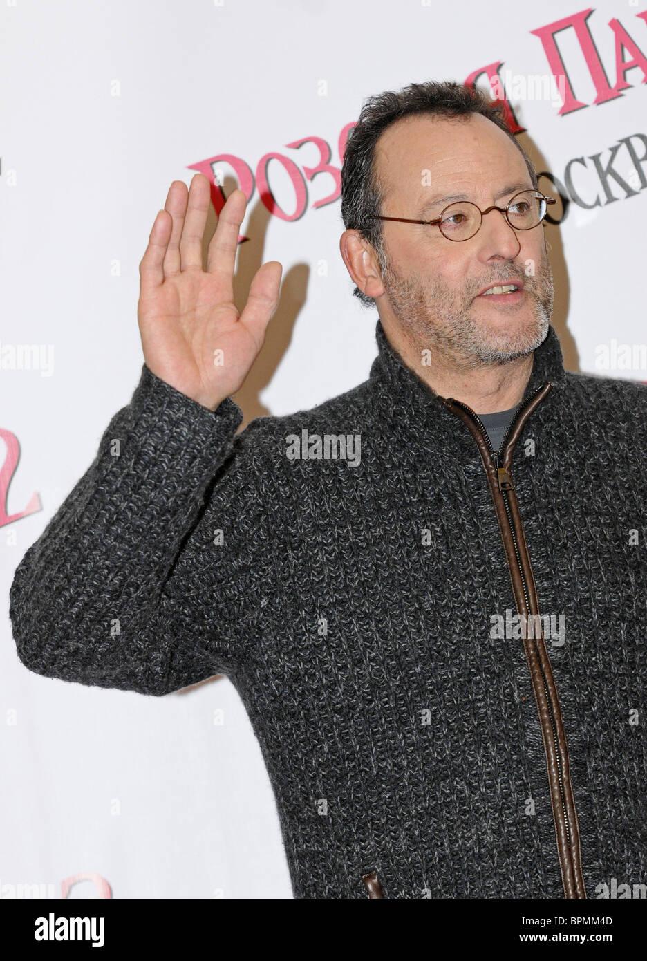 Jean Reno et Steve Martin porter la Panthère rose 2 film à Moscou Banque D'Images