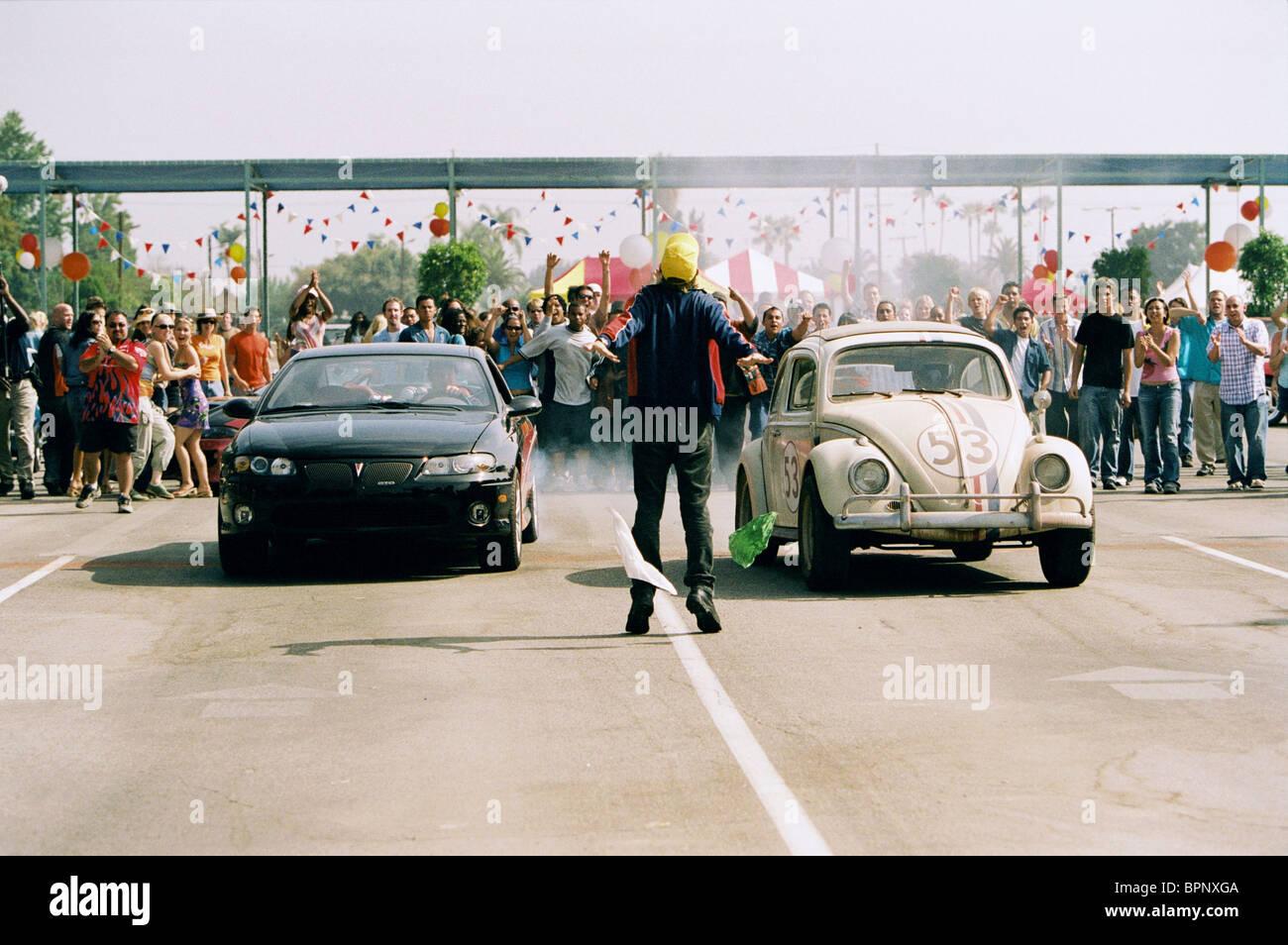 Scène de COURSE D'HERBIE: Fully Loaded; HERBIE FULLY LOADED (2005) Photo Stock