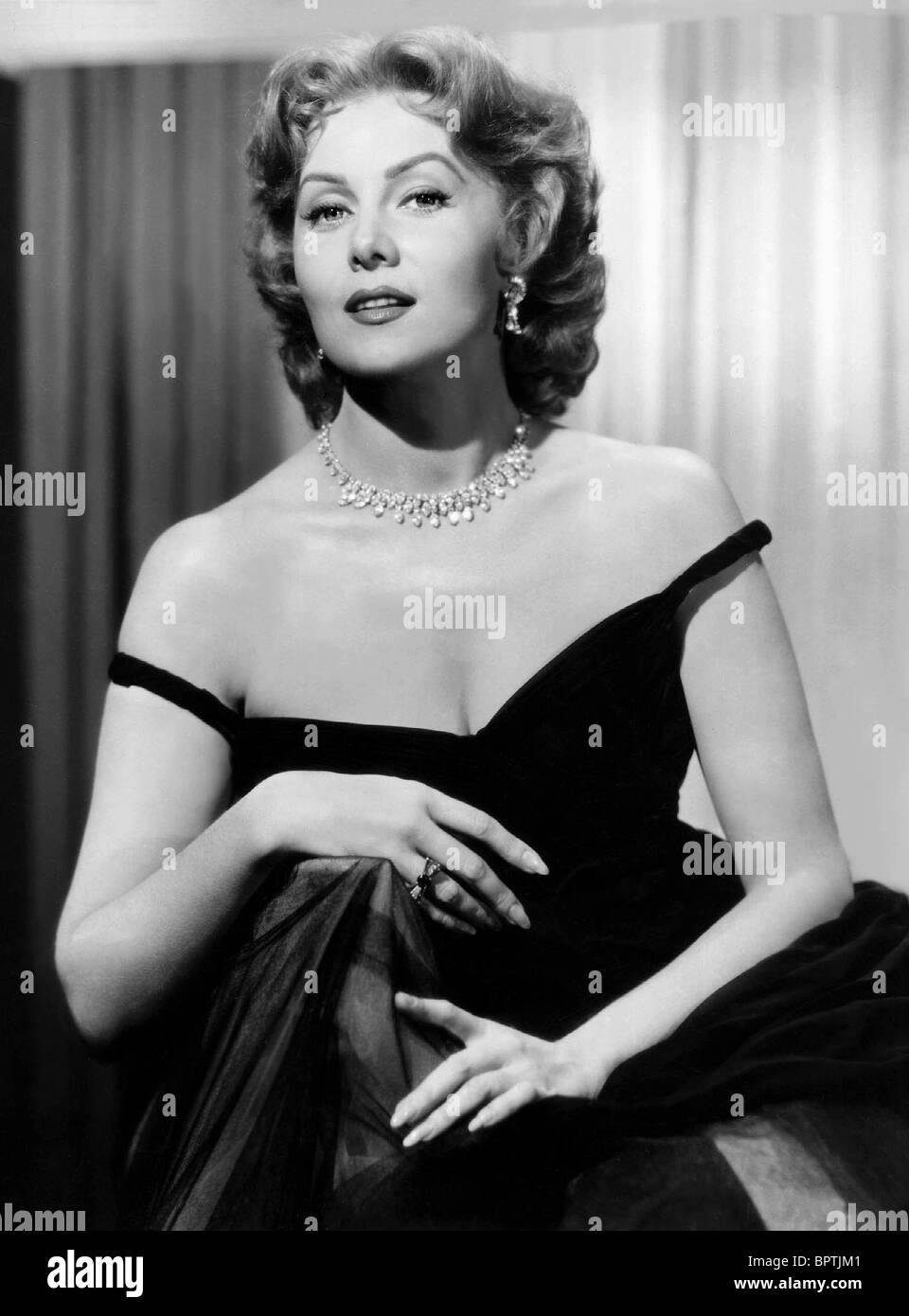 RHONDA FLEMING ACTRICE (1952) Photo Stock