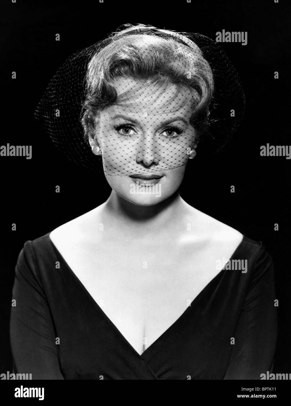RHONDA FLEMING ACTRICE (1960) Photo Stock