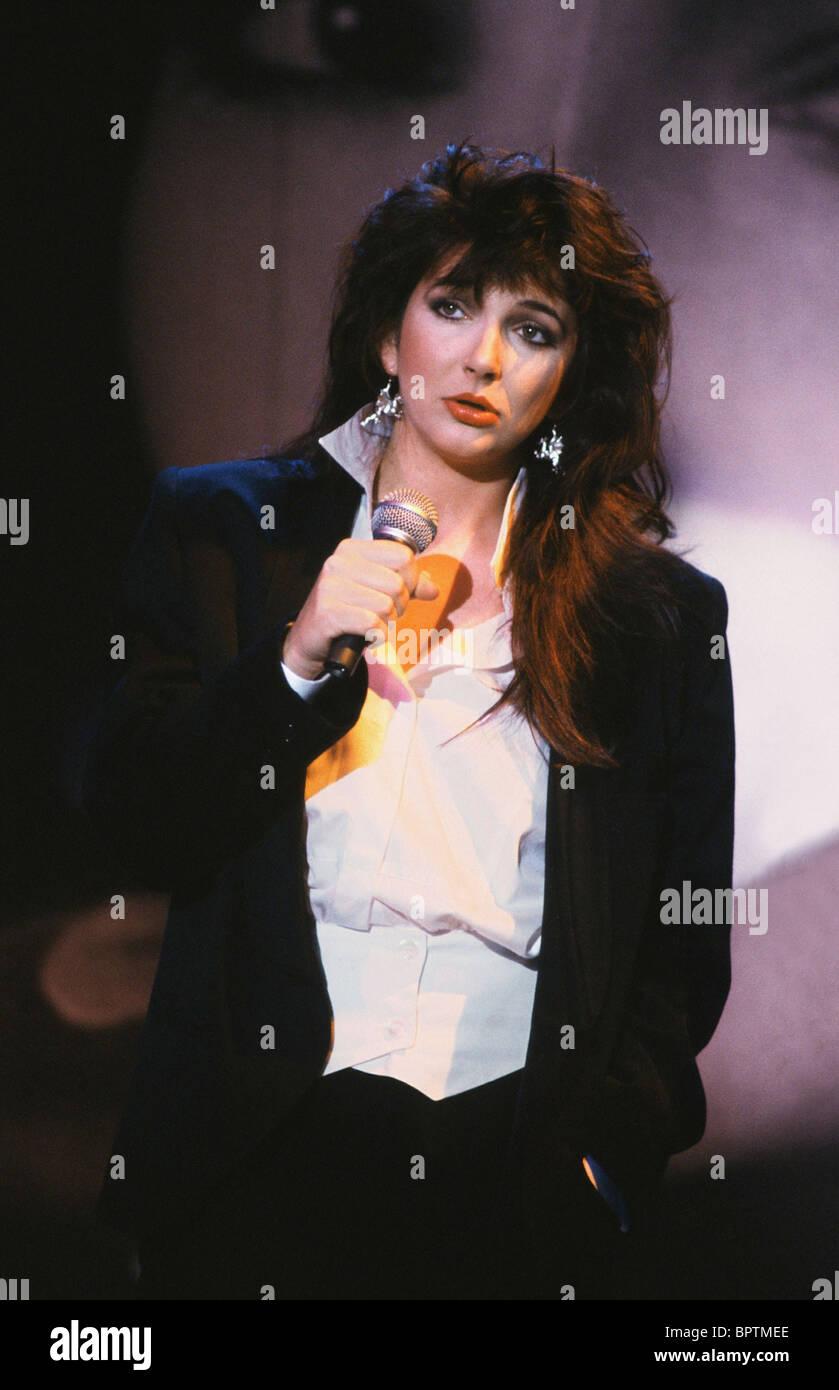La chanteuse Kate Bush (1985) Photo Stock