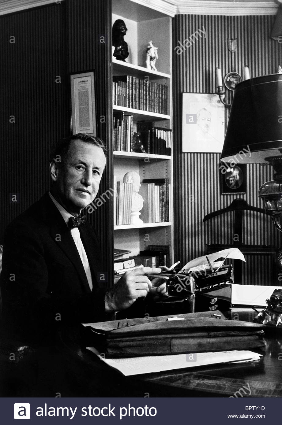 L'ÉCRIVAIN IAN FLEMING: JAMES BOND (1958) Photo Stock