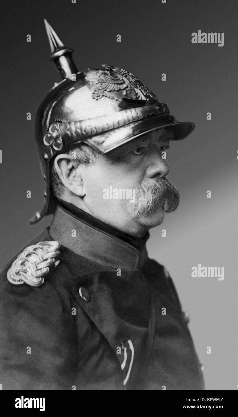 OTTO VON BISMARCK CHANCELIER DE L'ALLEMAGNE 1870-90 01 mai 1875 Photo Stock
