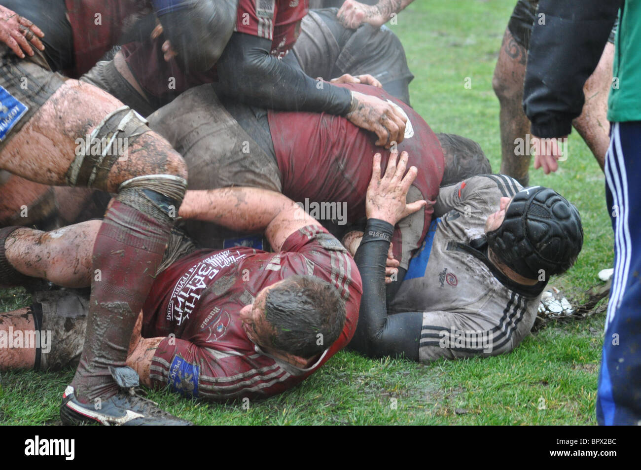 Match de rugby coupe d'Europe des nations: la Russie 14 - 10 Portugal Photo Stock