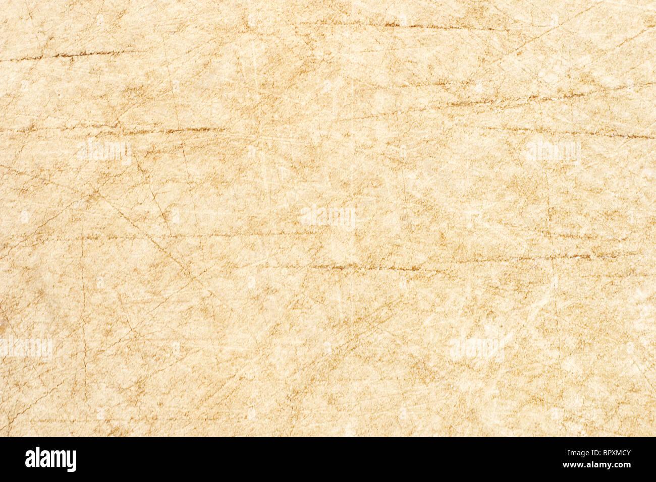 La texture de surface de billot en bois historique Photo Stock
