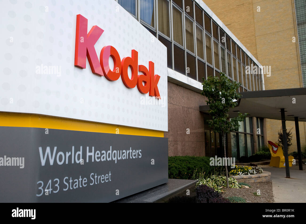 Le siège mondial de l'Eastman Kodak Company. Photo Stock