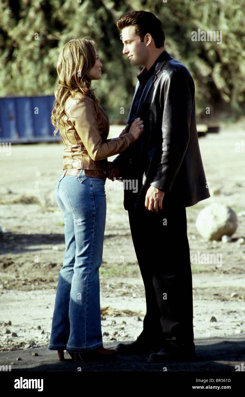 JENNIFER LOPEZ et Ben Affleck GIGLI; tough Love (2003) Photo Stock